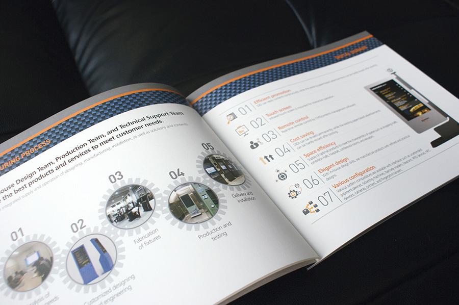 엘리비전기업제품 카타로그 제작의뢰는 제품카탈로그 디자인 편집 제작 전문업체 더레이아웃 입니다