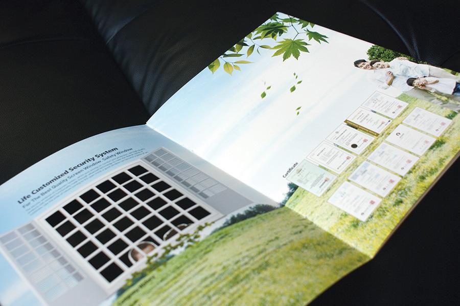 건축자제 카다록 디자인 제품카탈로그 편집 제작전문회사 더레이아웃입니다