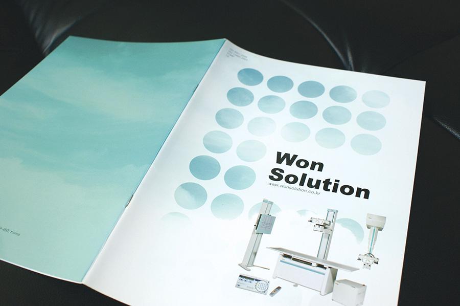원솔루션기업제품 카타로그 제작의뢰는 제품카탈로그 디자인 편집 제작 전문업체 더레이아웃 입니다