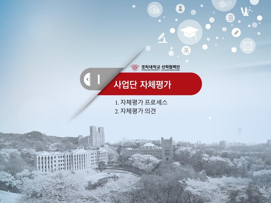 경희대산학협력단파워포인트 대학 창의적 자산 실용화 지원(BRIDGE)사업 2016년도 사업실적 및 2017년도 사업계획